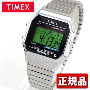 メーカー1年保証 TIMEX タイメックス TIMEX-T78587 国内正規品 デジタル メンズ レディース 腕時計 ユニセックス 緑 グリーン 銀 シルバー メタル バンド|tokeiten
