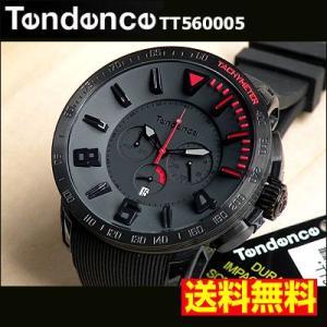 Tendence テンデンス ラバー メンズ 腕時計 GULLIVER SPORT TT560005 ブラック×レッド|tokeiten