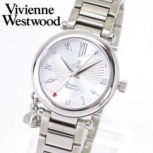 ヴィヴィアン ウエストウッド Vivienne Westwood ORB 腕時計 レディース シルバー VV006SL|tokeiten