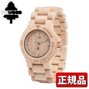 ポイント最大31倍 WEWOOD ウィーウッド 9818025 DATE BEIGE デイト ベージュ メンズ 男性用 腕時計|tokeiten