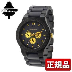 ストアポイント10倍 WEWOOD ウィーウッド 9818054 KAPPA BLACK RO 木製 メンズ 男性用 腕時計 黒 ブラック|tokeiten