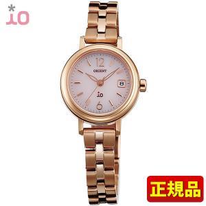 ポイント最大26倍 ORIENT オリエント io イオ レディース 腕時計 ピンク 金 ピンクゴールド WI0011WG ソーラー|tokeiten