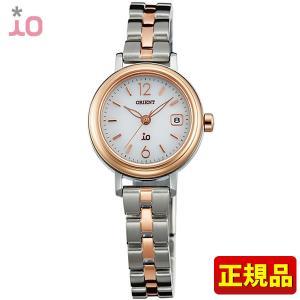 ポイント最大26倍 ORIENT オリエント io イオ レディース 腕時計 金 ピンクゴールド シルバー WI0021WG ソーラー|tokeiten