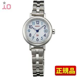 ポイント最大26倍 ORIENT オリエント io イオ レディース 腕時計 青 ブルー シルバー WI0026WG ソーラー|tokeiten