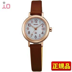 ポイント最大26倍 ORIENT オリエント io イオ レディース 腕時計 茶 ブラウン 金 ピンクゴールド WI0041WG ソーラー|tokeiten