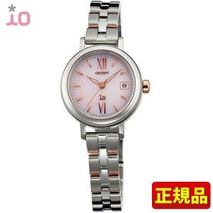 ポイント最大26倍 ORIENT オリエント io イオ レディース 腕時計 ウォッチ ピンク 銀 シルバー WI0061WG ソーラー|tokeiten
