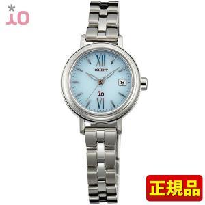 ポイント最大26倍 ORIENT オリエント io イオ レディース 腕時計 青 ブルー シルバー WI0071WG ソーラー|tokeiten