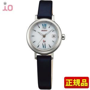 ポイント最大26倍 ORIENT オリエント io イオ レディース 腕時計 黒 ブラック 白 ホワイト WI0081WG ソーラー|tokeiten