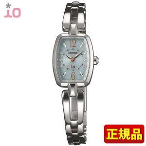 ポイント最大26倍 ORIENT オリエント 時計 iO イオ WI0141WD ペールグリーン レディース iOスウィートジュエリー ソーラー 日本製 Made in Japan|tokeiten