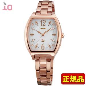ポイント最大26倍 ORIENT オリエント io イオ レディース 腕時計 ウォッチ コスチュームジュエリー 金 ピンクゴールド WI0151SD|tokeiten