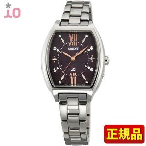 ポイント最大26倍 ORIENT オリエント io イオ レディース 腕時計コスチュームジュエリー シルバー ダークブラウン WI0171SD ソーラー電波時計|tokeiten