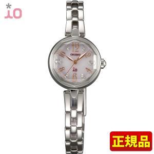 ポイント最大26倍 ORIENT オリエント iO イオ 腕時計 時計 ドレス フォーマル 結婚式 WI0171WD レディース 国内正規品 ピンク スウィートジュエリー ソーラー|tokeiten