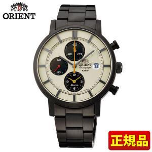 ポイント最大26倍 ORIENT オリエント STYLISH AND SMART スタイリッシュスマート ソーラー WV0051TY メンズ 男性用 腕時計 黒 ブラック 国内正規品|tokeiten