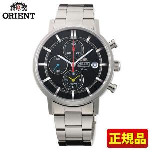 ポイント最大26倍 ORIENT オリエント STYLISH AND SMART スタイリッシュスマート ソーラー WV0061TY メンズ 男性用 腕時計 黒 ブラック 国内正規品|tokeiten