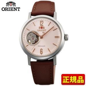 ORIENT オリエント STYLISH AND SMART スタイリッシュスマート セミスケルトン メンズ レディース 腕時計 ユニセックス ライトピンク ブラウン WV0471DB|tokeiten