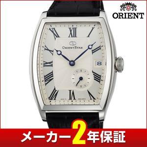 メーカー2年保証 ORIENT オリエント ORIENT STAR オリエントスター エレガントクラシックトノー メンズ 腕時計黒 ブラック 銀 シルバー WZ0021AE 国内正規品 tokeiten