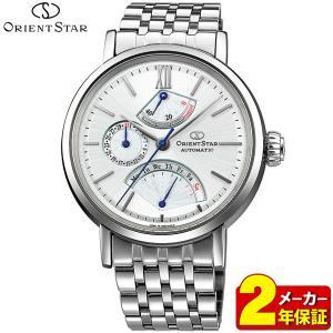 カレンダー付 ORIENT オリエント ORIENT STAR オリエントスター WZ0101DE クラシック レトログラード メンズ 腕時計 白 ホワイト|tokeiten