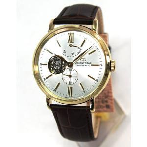 カレンダー付 オリエント スター 腕時計 ORIENTSTAR 自動巻き メカニカル クラシック スケルトン WZ0141DK メンズ 腕時計 国内正規品|tokeiten|02
