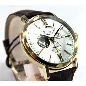 カレンダー付 オリエント スター 腕時計 ORIENTSTAR 自動巻き メカニカル クラシック スケルトン WZ0141DK メンズ 腕時計 国内正規品|tokeiten|03