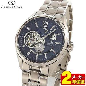 カレンダー付 ポイント最大35倍 ORIENT STAR オリエントスター モダンスケルトン WZ0191DK 機械式 自動巻き メンズ 腕時計 国内正規品|tokeiten