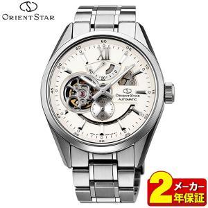 カレンダー付 ORIENT STAR オリエントスター 機械式 メカニカル 自動巻き WZ0281DK モダンスケルトン メンズ 腕時計 国内正規品|tokeiten