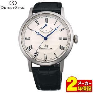 カレンダー付 ポイント最大35倍 ORIENT STAR オリエントスター レザー自動巻き メンズ 腕時計 エレガントクラシック WZ0341EL 国内正規品|tokeiten