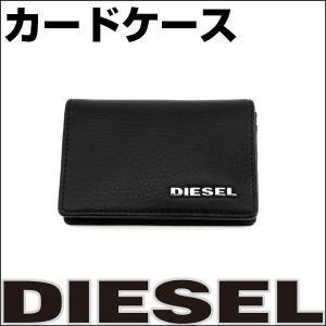 DIESEL ディーゼル X03148-PS777-T8013 海外モデル メンズ 男性用 カードケース ブラック 黒 tokeiten
