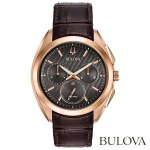 BULOVA 97A124 Curv ブローバ カーブ クオーツクロノグラフ式腕時計|tokeiya-ito