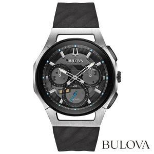 BULOVA 98A161 Curv ブローバ カーブ クオーツクロノグラフ式腕時計|tokeiya-ito