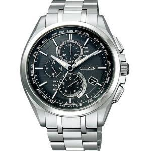 CITIZEN 腕時計 アテッサ AT8040-57E エコドライブ電波ワールドタイム 電波時計だからこその、三位一体の技術|tokeiya-ito