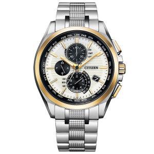 CITIZEN 腕時計 アテッサ AT8048-55A  薄型グローバル電波時計シリーズの限定モデル 限定モデル700本|tokeiya-ito