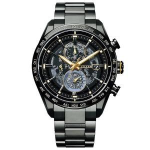 CITIZEN 腕時計 アテッサ AT8185-71E  ACT Line ブラックチタンリーズ  世界限定1,600本|tokeiya-ito