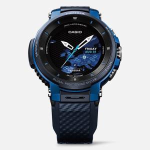カシオ PROTREK Smart プロトレックスマート 腕時計 WSD-F30-BU|tokeiya-ito