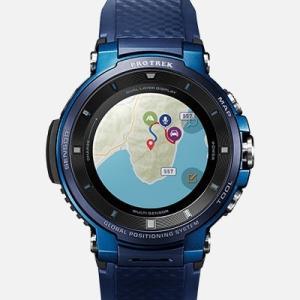 カシオ PROTREK Smart プロトレックスマート 腕時計 WSD-F30-BU|tokeiya-ito|05