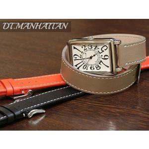ZRC ズッコロ DT.MANHATTAN マンハッタン 2重巻き 時計ベルト 対応サイズ:12mm,14mm,16mm,18mm,20mm|tokeiyanet