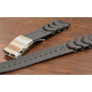 バンビ ウレタン ブラック 時計ベルト|tokeiyanet