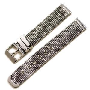 時計屋ネット ミラネーゼ メタルブレス シルバー 対応サイズ:18mm,20mm,22mm|tokeiyanet