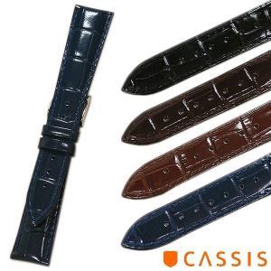 カシス MULHOUSE(ミュールズ) 型押し(裏ラバー) 時計ベルト 対応サイズ:18mm,19mm,20mm,22mm tokeiyanet