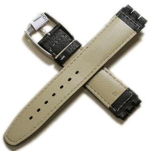 モレラート ヒルトン スウォッチ用 ブラック カーフ時計ベルト|tokeiyanet|02