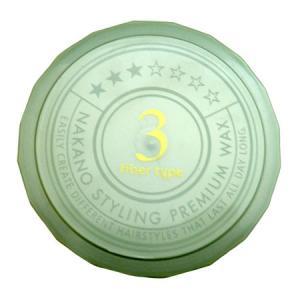 ナカノ スタイリング プレミアムワックス ファイバータイプ 3 ライトハード (ヘアワックス) 60...