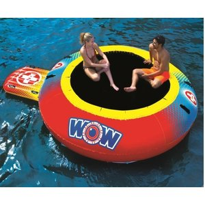 ワオ エアジャンプ水上用トランポリン 直径305cm ジャンプエリア:177cm 最大耐荷重108kg コストコ 1324430 レジャー 海 プール アウトドア