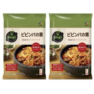 送料無料 ビビンバの素 2人前×4パック コストコ 18531 韓国 韓飯 ビビンバ 焼肉のあとで ...