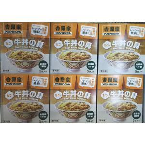 冷凍便 吉野家 ミニ牛丼の具 5袋 電子レンジ調理 よしのや コストコ お茶碗一杯分サイズ  牛丼 yoshinoya 吉牛 ヨシノヤ