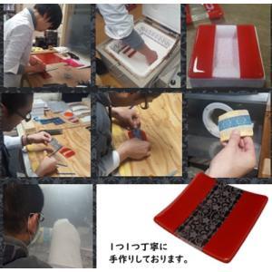 ガラスのお皿 雪月花オリジナル 選べる2タイプ 雪月花モケット柄モチーフ|tokitetsu-official|03