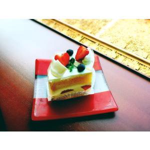 雪月花 ガラス皿  雪月花モケット柄モチーフ|tokitetsu-official|05