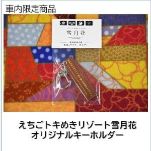 車内限定商品 雪月花オリジナルキーホルダー|tokitetsu-official