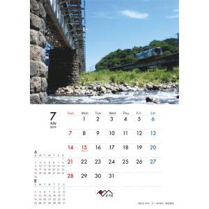 2019年トキ鉄カレンダー 中綴じ壁掛け  tokitetsu-official 10