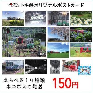 選べる14枚種類 トキ鉄ポストカード ネコポス tokitetsu-official