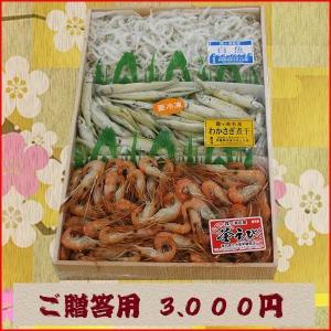 ギフト用折詰『霞ヶ浦産煮干しセット』 3.000円|tokiwashouten