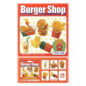 ぷちサンプルシリーズ マグネット バーガーショップ BOX|tokiwaya